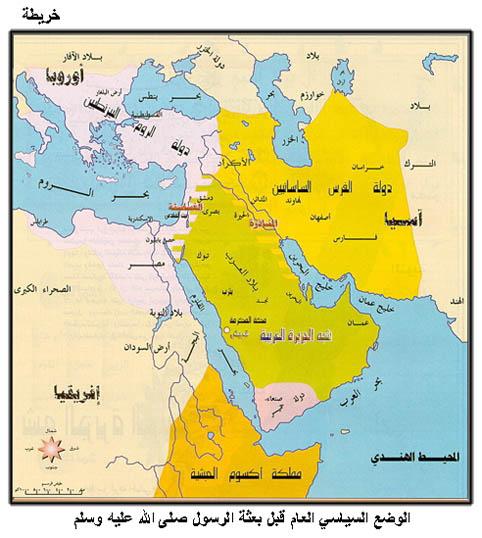 محمد - قصة محمد  صل الله عليه وسلم Map35